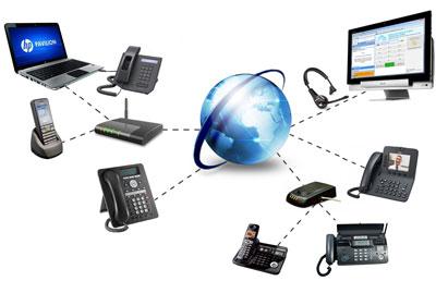Internet, comunicare telefonie