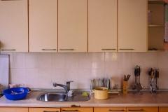 """Kitchen of the maternity center """"Pro Familia"""" in Causeni. Republic of Moldova."""