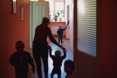 """Inside the maternity center """"Pro Familia"""" in Causeni. Republic of Moldova"""