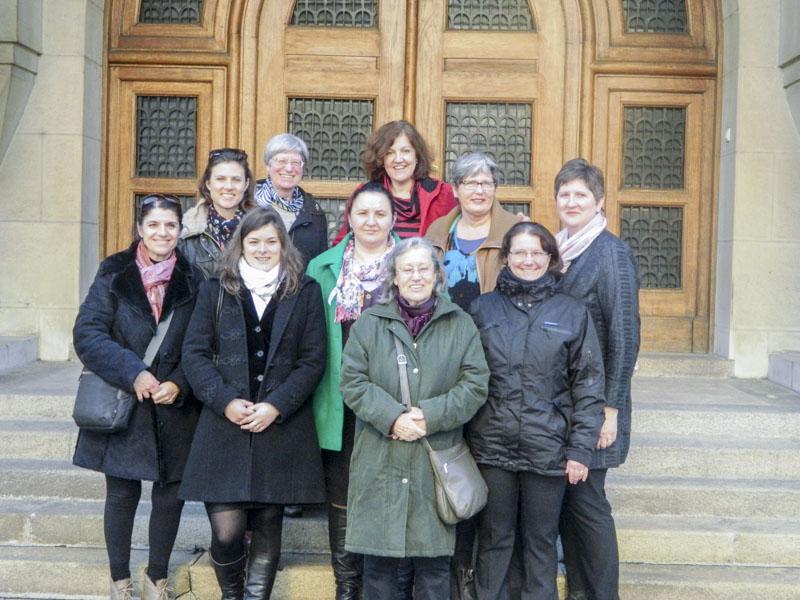 Consiliul Coordonator al Forumului Ecumenic al Femeilor Creștine din Europa, la o ședința in Serbia