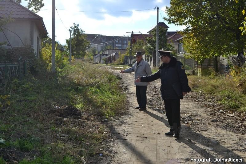 Grupul de lucru, inițiat de către veteranul Vasile Papușoi, pe teren