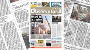 """Apare un nou număr al ziarului """"Observatorul de Nord"""""""