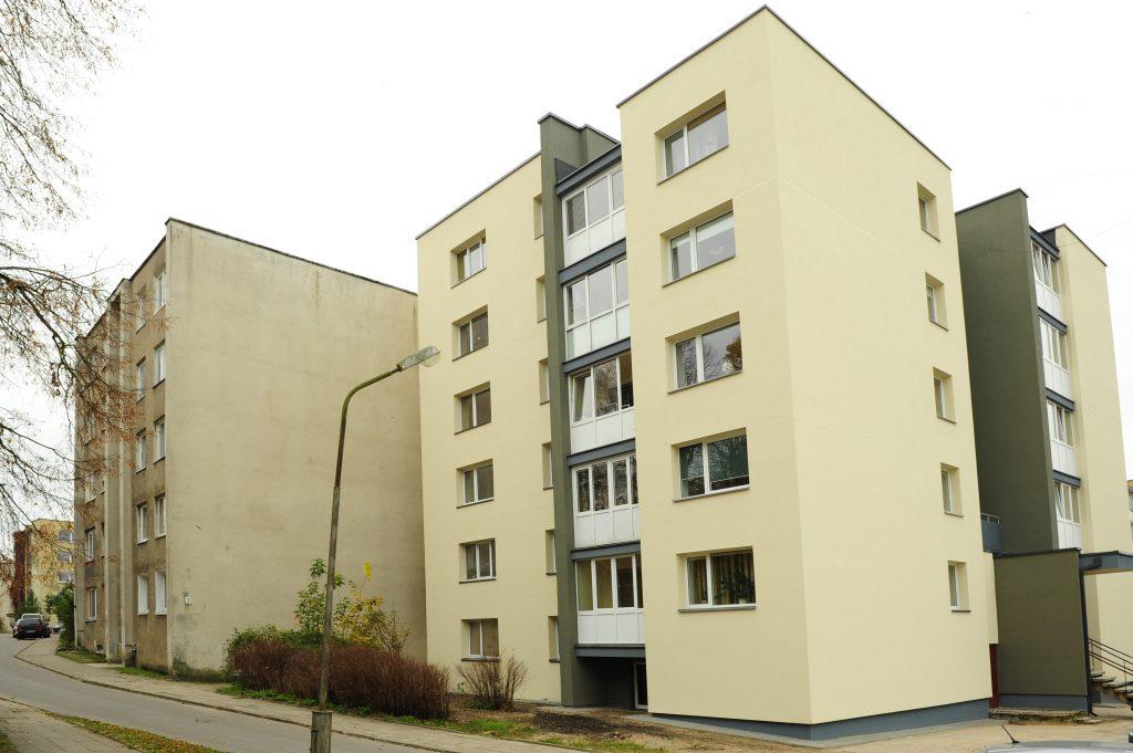 Trakai, bloc locativ