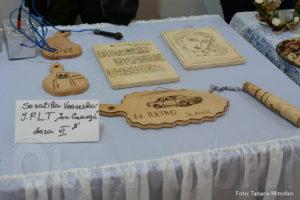 Lucrările elevului la expoziția tinerilor talente din Soroca