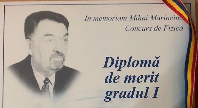 """Ediţia a IX-a a Concursului de Fizică """"In memoriam: Mihai Marinciuc"""""""