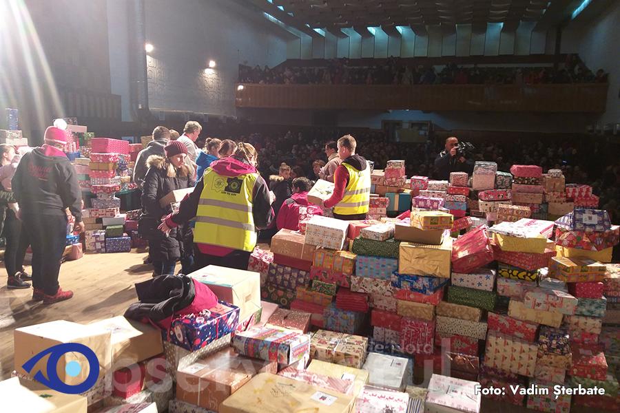 fotografii oficiale vânzare la cald frumuseţe VIDEO: 1200 de cadouri cu surprize au primit copiii din Soroca de ...