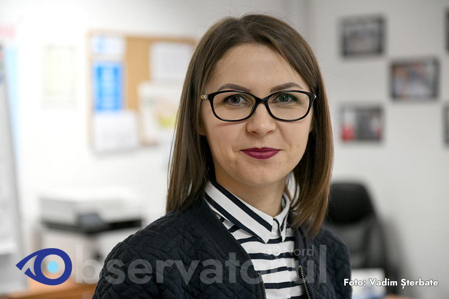 Stella Buzuleac, asistent de proiect