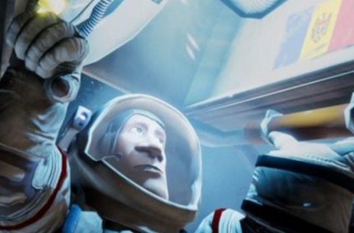 """Filmulețul """"ARIPI"""" relatează povestea unui astronaut moldovean care în copilărie visa să poată zbura."""