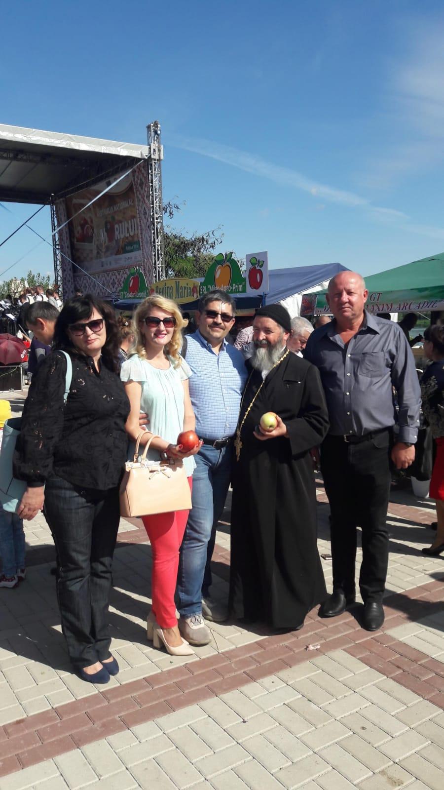 La Festivalul Mărului din Soroca, septembrie 2018