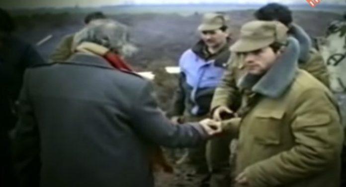 captură video din filmul Masacrul inocenților sau cronica unui război uitat, de Victor Bucătaru
