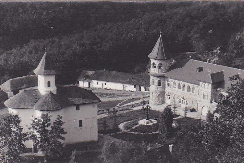 Așa arăta mănăstirea în perioada interbelică